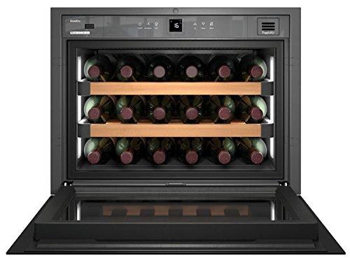 Liebherr WKEgb 582 GrandCru Incasso Cantinetta termoelettrica Nero 18bottiglia/bottiglie A+ cantina vino