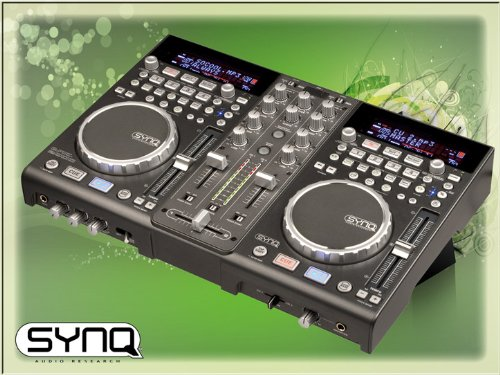Synq Audio – DMC 2000 Media Konsole, Midi Controller, inkl. Dekadance-LE
