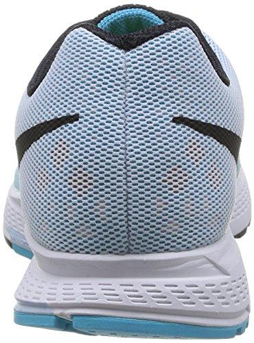 Nike Air Zoom Pegasus 31 Damen Laufschuhe Blau (White/Black/Clearwater/Antrctc)