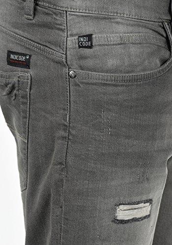 Shorts Destroyed Mit Hallow Indicode Herren Denim Hose Kurze Jeans rCxeWdoB