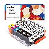CSSTAR Compatible Cartouche d'Encre Replacement pour HP 364 364XL pour Photosmart...