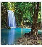 ABAKUHAUS des Bois Rideau de Douche, Chute d'eau Asie Thaïlande Jungle Tropique...