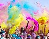 HOLI - Bolsa de Polvo de Colores para Festivales, Celebraciones,...