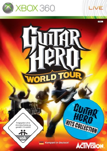Guitar Hero: World Tour - Hit Collection (Drum Guitar Hero Xbox)