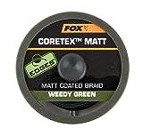Fox Edge Matt Coretex 20m Vorfachschnur, Tragkraft:15lbs/6.8kg, Farbe:Grün