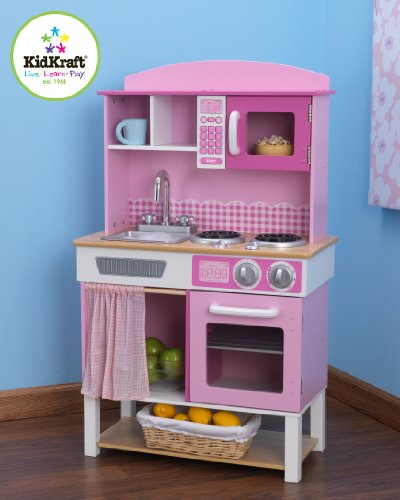 Imagen principal de KidKraft 53198 Cocina infantil de juguete Home Cookin' de madera
