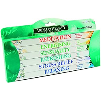 Stamford Aromatherapy Incense Gift Pack, Multi-Colour
