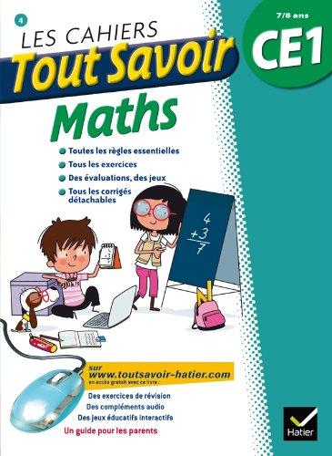 Les cahiers Tout Savoir Maths CE1