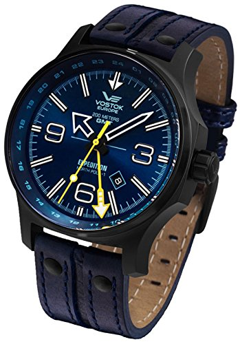 Montre Vostok Europe Expedition North Pole homme 515.24H-595C503