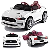 GT Raptor Cabriolet Elektro Kinderauto Ride-On 12V - 2X Motoren (Weiss)