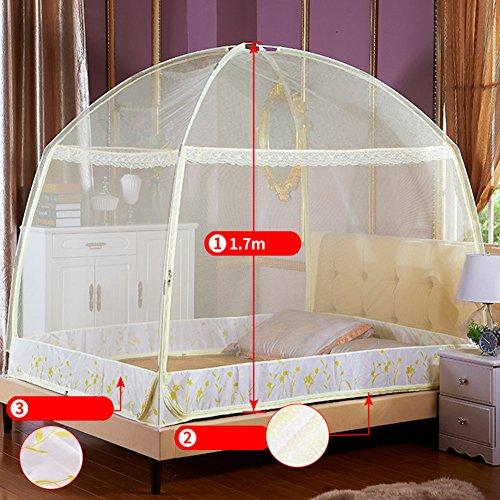 Moskitonetz betthimmel, Zwei Öffnungen Rechteckige netz vorhang für doppelbett, Schutz insektenschutzmittel-A 100cm(39inch)