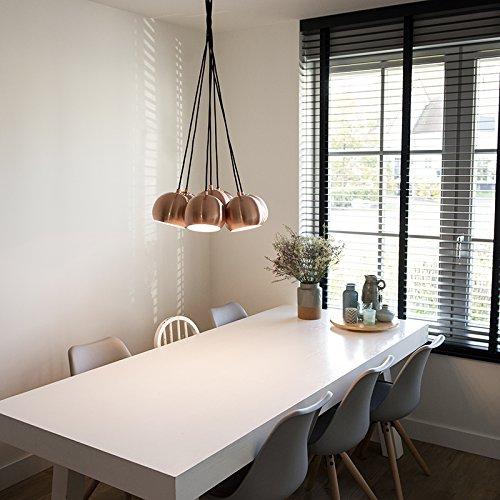 qazqa design / modern / esstisch / esszimmer / pendelleuchte ... - Hangelampe Wohnzimmer Modern
