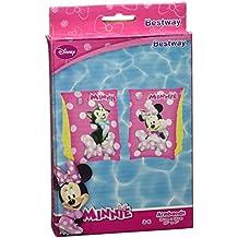 Bestway 91038 - Manguitos de natación de Minnie Mouse para bebés (Vinilo, 250 x 150 mm)