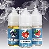 Liquidi per Sigarette Rainlax 3x 30ml Liquido per sigaretta elettronica 0mg/ml senza Nicotina (3x 30ml Frutta E-Liquid) immagine