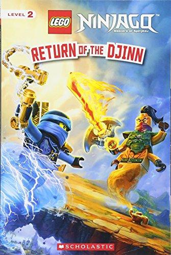 Return of the Djinn (Lego Ninjago: Reader) (Scholastic Readers: Lego Ninjago, Level 2)