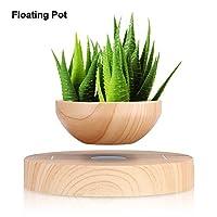 Descrizione: Il vaso magico può galleggiare a mezz'aria. È un grande regalo per i tuoi amici e familiari, una bella decorazione per la casa e l'ufficio. Perfetto per piccoli bonsai da interno o altre piccole piante. Questo è un fantastico gad...