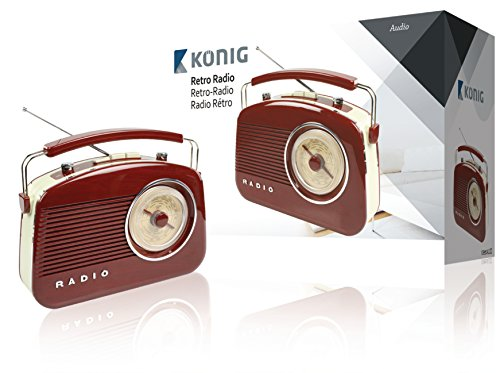 König HAV-TR710BR Portable Analo...