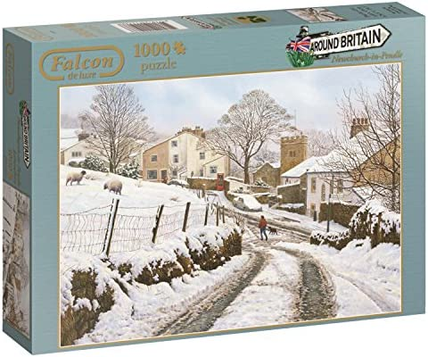 JUMBO Newchurch-in-Pendle Puzzle 1000 Pièces, 611108, Multicolore Multicolore Multicolore | Prix Modéré  56efa5