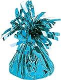 amscan 170g/6oz Foil Folienballon Gewicht, Baby Blue