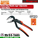 Bahco  8231 Slip Joint Plier 200MM - 55MM Cap