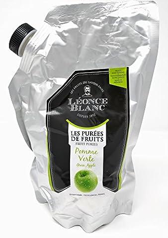 Léonce Blanc Purées de Fruits - Pomme Verte 1kg