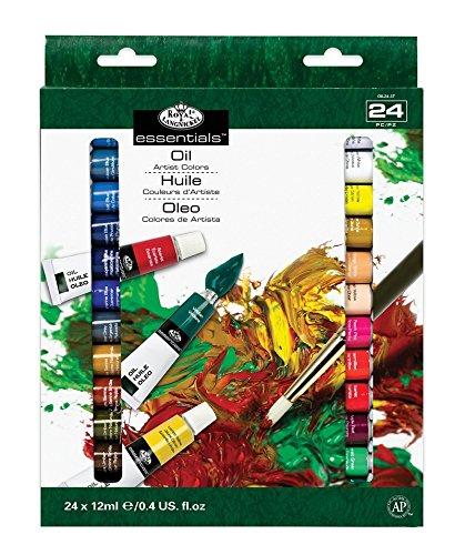 Royal & Langnickel - Kit de 24 colores al óleo