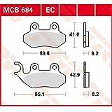 Bremsbelag Lucas MCB684EC organisch für Roller, Scooter, Offroad