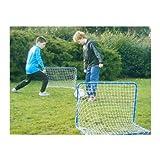 AP24 - 2 x Fussballtor Fußballtor 78 x 56 x 45 cm Fußball Tor Goal incl Netz