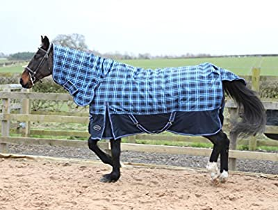 Medium/Heavy Weight 250g Combo Check Turnout Rug All Sizes produced by Sheldon - quick delivery from UK.