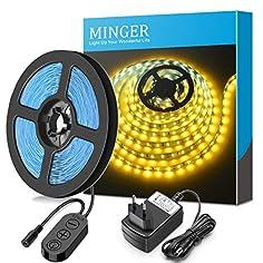 Minger 5m Dimmbar LED Strip...