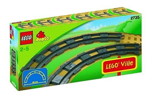 LEGO DUPLO Trains 2735 Curved Rails