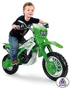 Injusa - 680 - Vélo et Véhicule pour Enfant - Moto Cross Thunder Vx 6V - Bleu