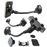3 en 1 universal teléfono móvil smartphone Navi coche Camiones Automóviles handyhalterung Pinza Soporte Magnético Modelo: IP15-MH304
