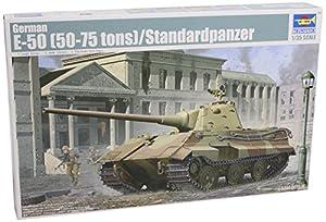Trumpeter 1536 German E-50 (50-75 toneladas) - Tanque Miniatura (Escala 1:35)