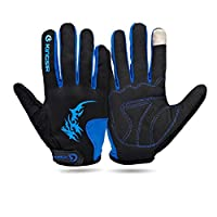 DXG&FX Cycling gloves All Share bike gloves long mountain bike gloves for men and women Riding equipment-A XL