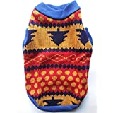 Birds' Park Dog Woollen Sweater No:16 For Pug & Adult Pups Size 16 Inch In Length