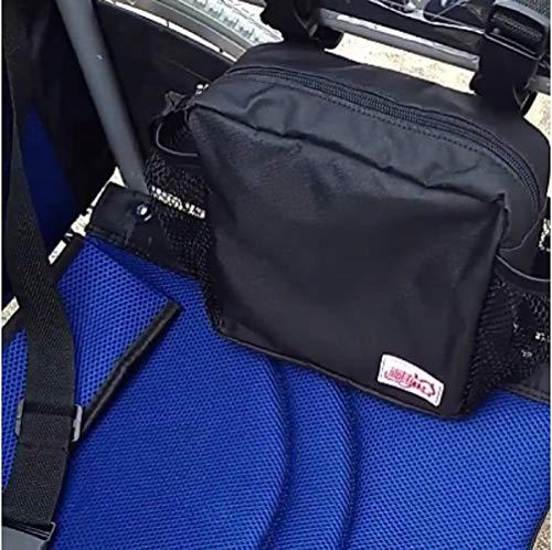 Rollstuhlhülle/Walker-Taschen/Armlehnen-Seitentasche für Mesh-Aufbewahrung - Für alle Roller, Rollatoren, elektrische und manuelle Elektrorollstühle -
