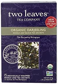 Two Leaves and a Bud Darjeeling Tea, 15-count Box