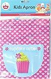 Kinder Muffin Schöpfern Silikon Cases & PVC Abwischbare Schürze Set (Mädchen)