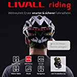 Bling-Livall-Casco-da-bicicletta-Bluetooth-colore-bianco