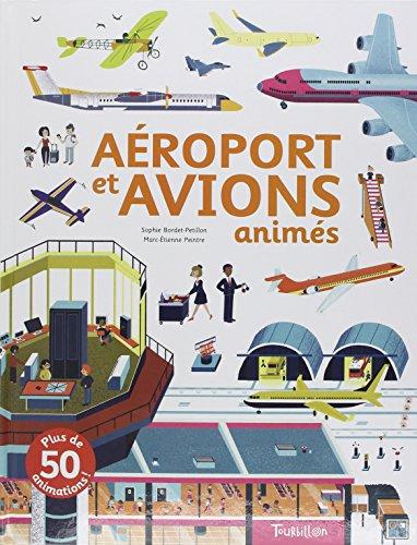 Aéroport et avions animés