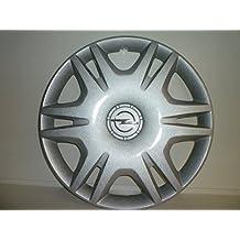 Juego de Tapacubos 4 Tapacubos Diseño de Opel Corsa de 2006 r 16 () Logo