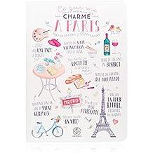 """Lovely Streets WOA02904 - Libreta, diseño """"Ce qui me charme à Paris"""", multicolor"""