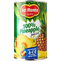 Del Monte Pineapple Juice (100% Unsweetened) 1.36L