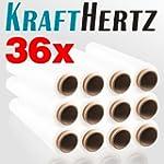 36 Rollen KRAFTHERTZ XL Paletten-Stre...