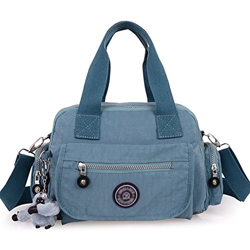 female-casual-shoulder-bag-messenger-nylon-bag-blackish-grey