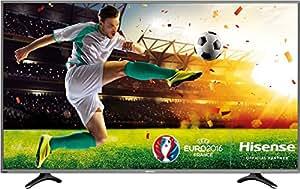 Hisense UB55EC591 138 cm (55 Zoll) Fernseher (Ultra HD, Triple Tuner, DVB-T2 HD, Smart TV)