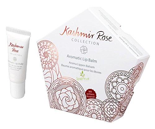 Balsamo per le labbra Rose Kashmir con naturale olio di rosa 8 g