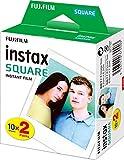 Instax SQUARE Film 20 shot pack, white border