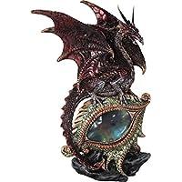 Nemesis Now – Figura decorativa de ojos rojos del dragón – Figura decorativa ...